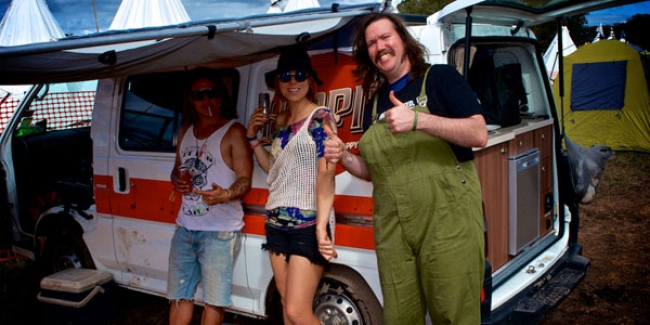 Travel Adventures: Hippie Campervan At Splendour